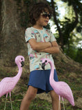 THE COOL TEE - HELMUT FLAMINGO