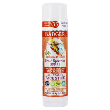 Kids SPF 35 Clear Zinc Face Stick