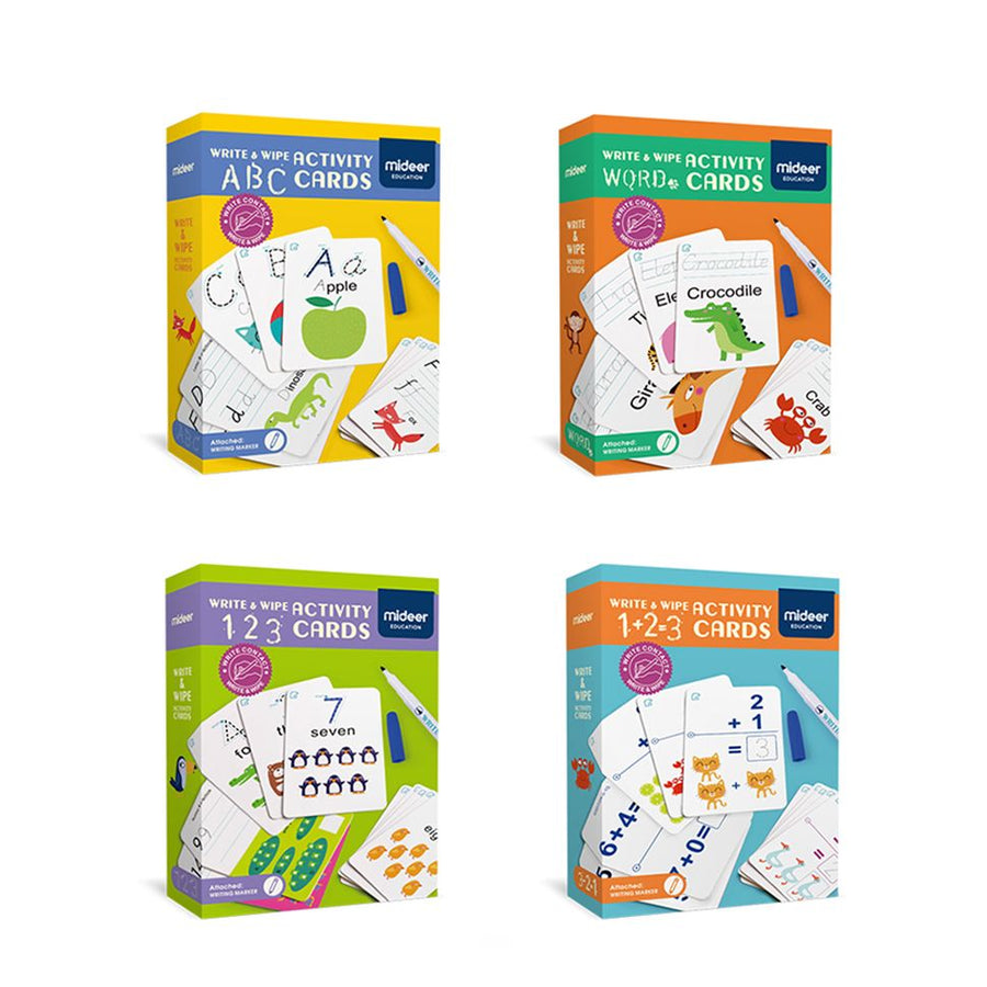 Write & Wipe Activity | ABC Cards