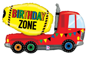 Birthday Zone Truck Balloon - 30