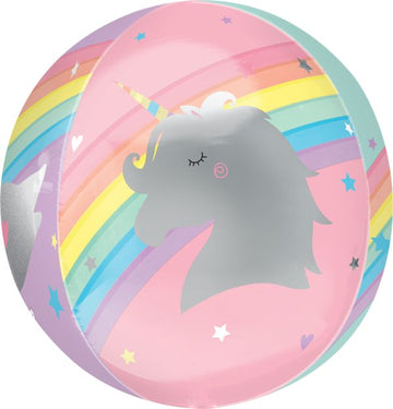 Unicorn Orbz Balloon