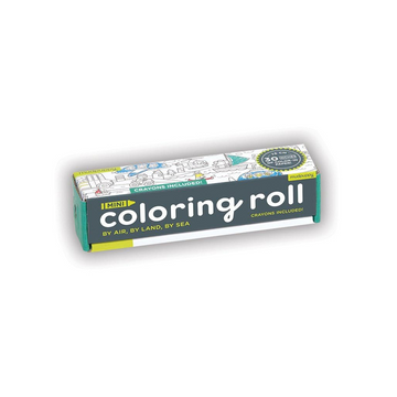 Mini Colouring Roll | By Air, By Land, By Sea