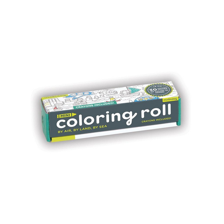 Mini Colouring Roll - By Air, By Land, By Sea