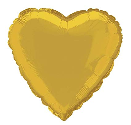 Heart Foil Balloon - 18""