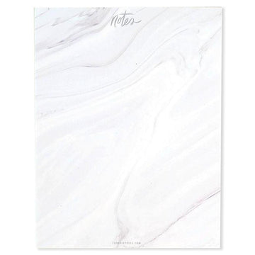 Gray Marbled Notepad