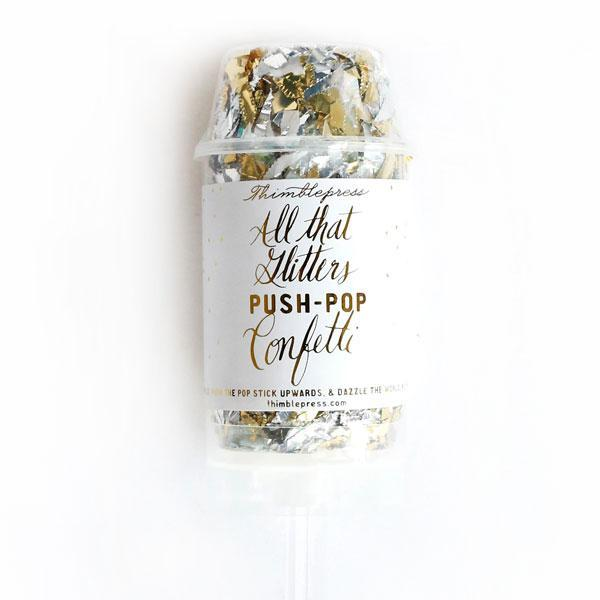 All That Glitters Push-Pop Confetti®