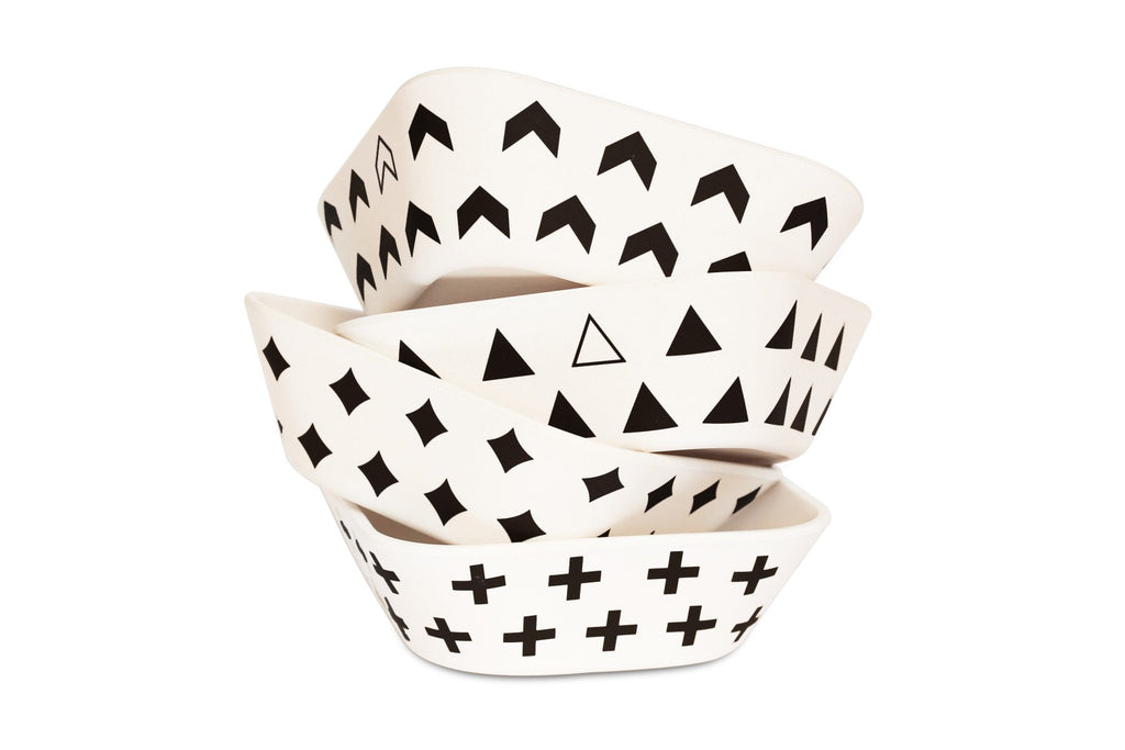 Bamboo Bowl Set - Scandinavian Series