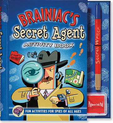 Brainiac's Secret Agent Activity Book