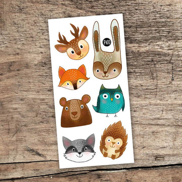 Woodland Animal Tattoos