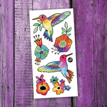 Temporary Tattoos | Hummingbirds