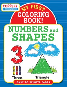 My First Colouring Book - Numbers & Shapes