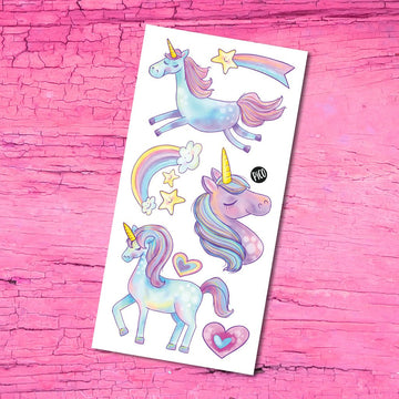 Temporary Tattoos | Unicorns