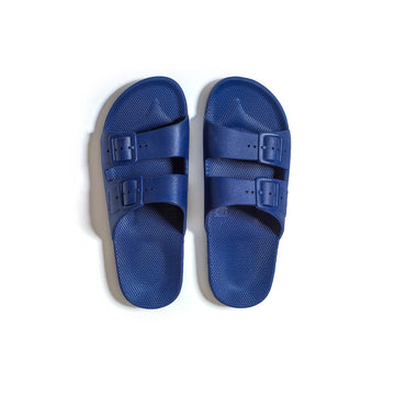 Freedom Moses Slippers - Navy