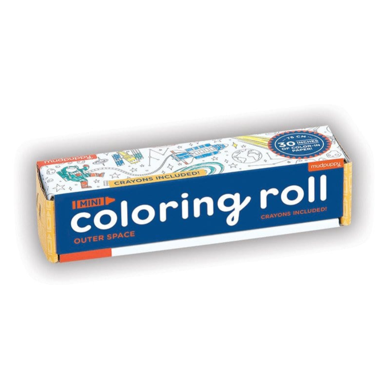 Mini Colouring Roll - Outer Space