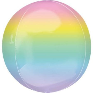 Pastel Rainbow Orbz Balloon