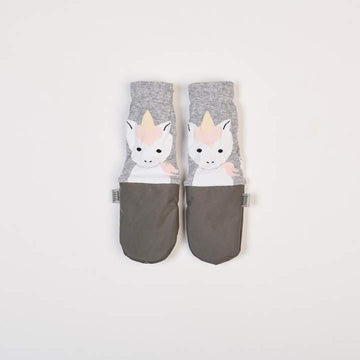 All Weather Mittens | Unicorn Grey