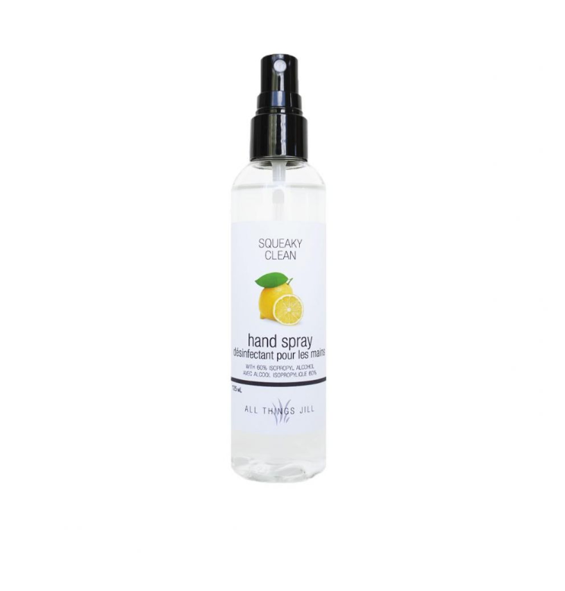 Squeaky Clean Hand Spray / Sanitizer
