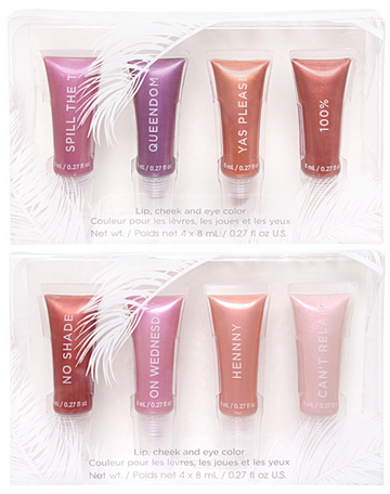 4 Pack Lip, Cheek, and Eyecolour Tube