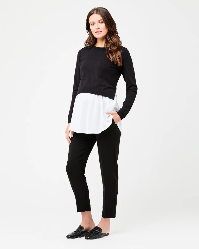 Pia Nursing Knit