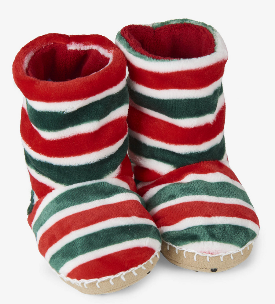 Holiday Fleece Slippers