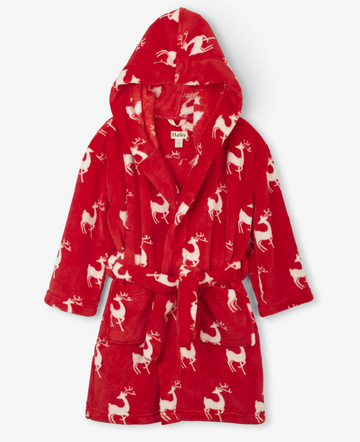 Deer Fleece Robe