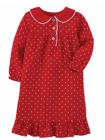 Polka Dot Night Gown