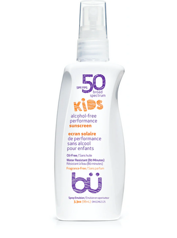 Kids SPF 50 Alcohol-Free Spray Fragrance Free