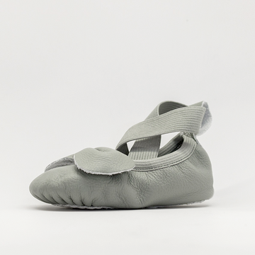 Leather Ballet Moccs | Moss