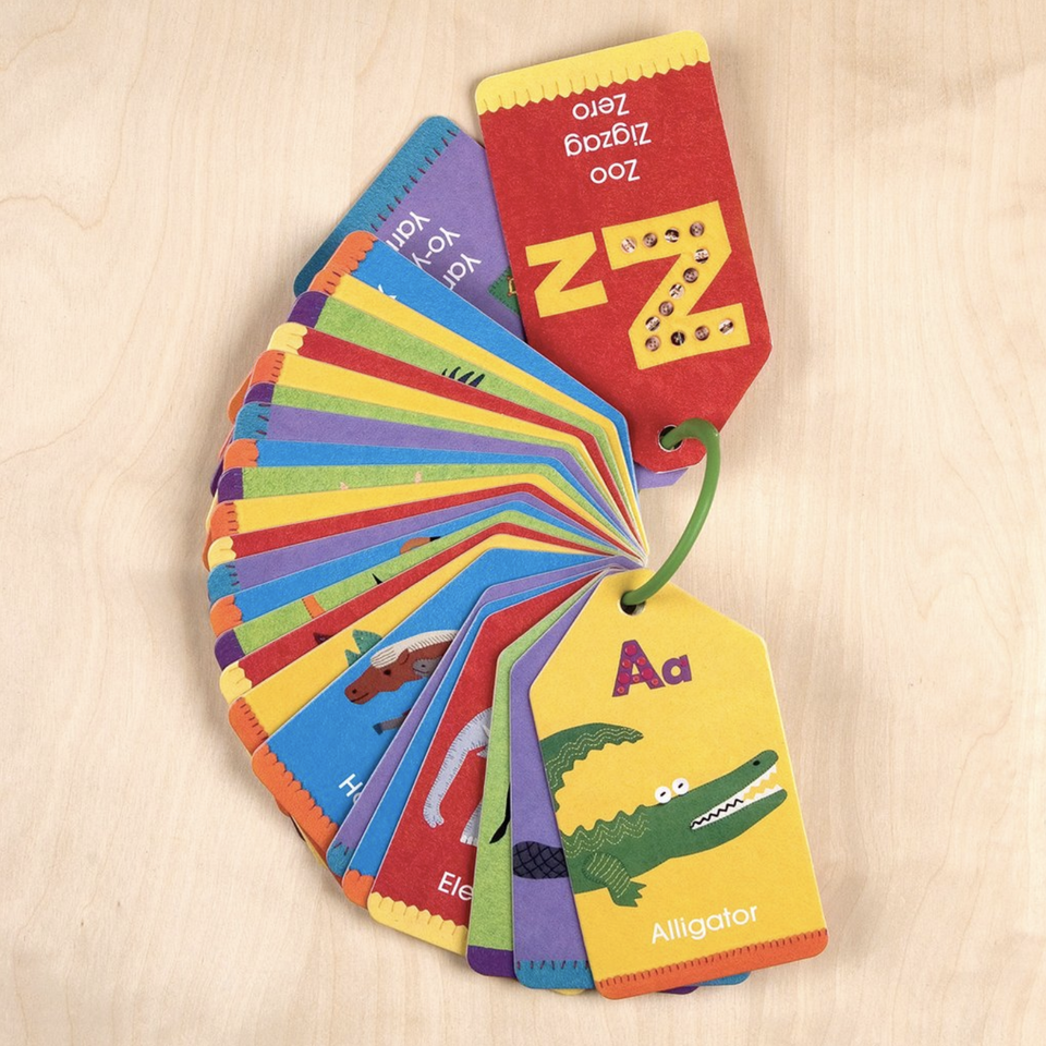 Ring Flash Cards - Animal ABCs