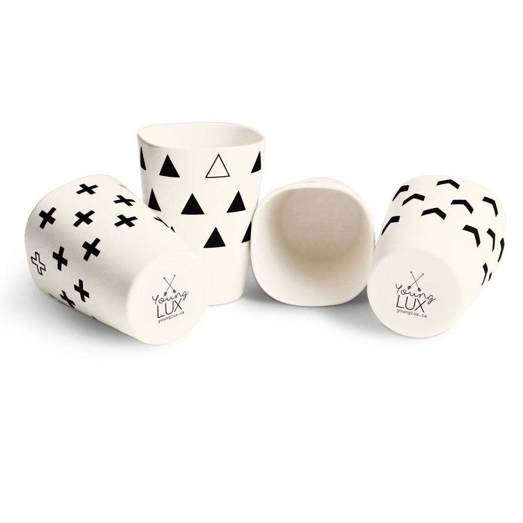 Bamboo Cups Set - Scandinavian Series