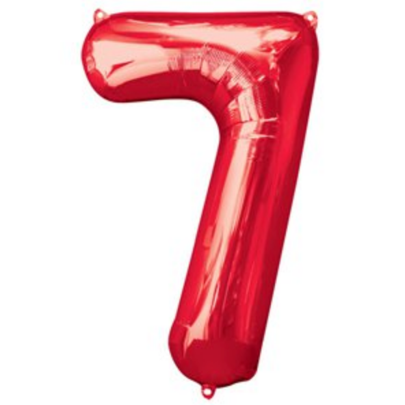 Jumbo Foil Balloon - Number 7