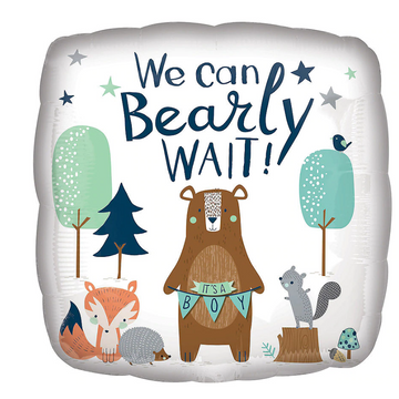 We Can Bear-ly Wait (Its a boy)