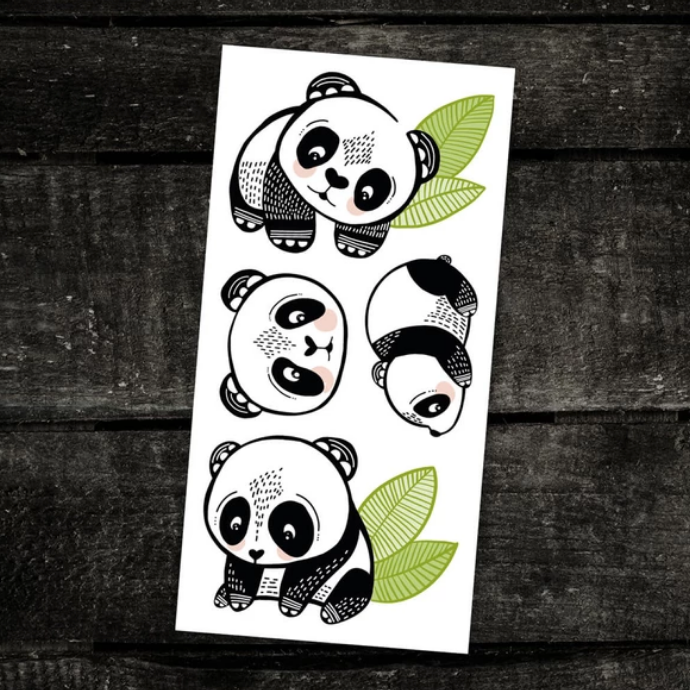 Temporary Tattoos - The Cool Pandas