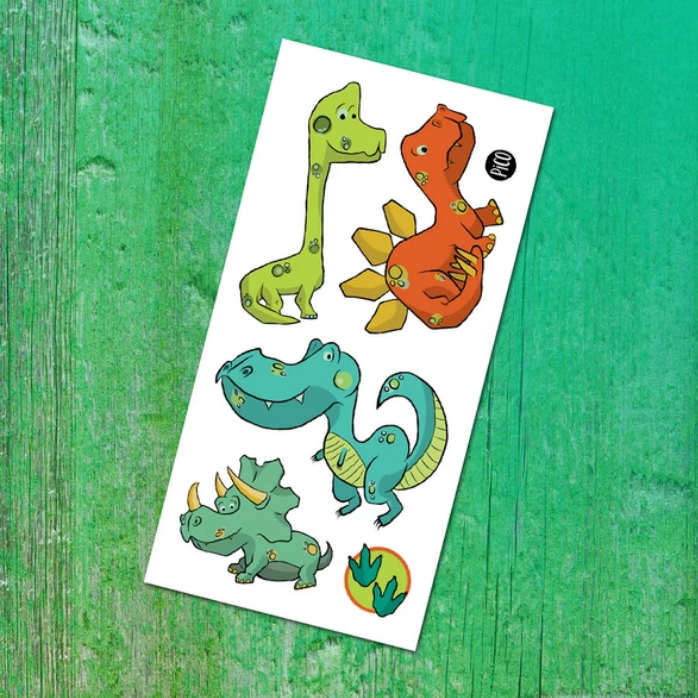 Temporary Tattoos - Dinos