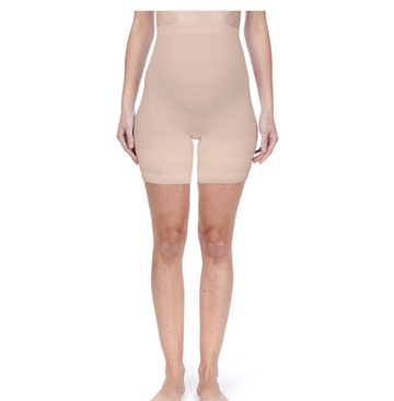 Seamless Shorts Long | Natural