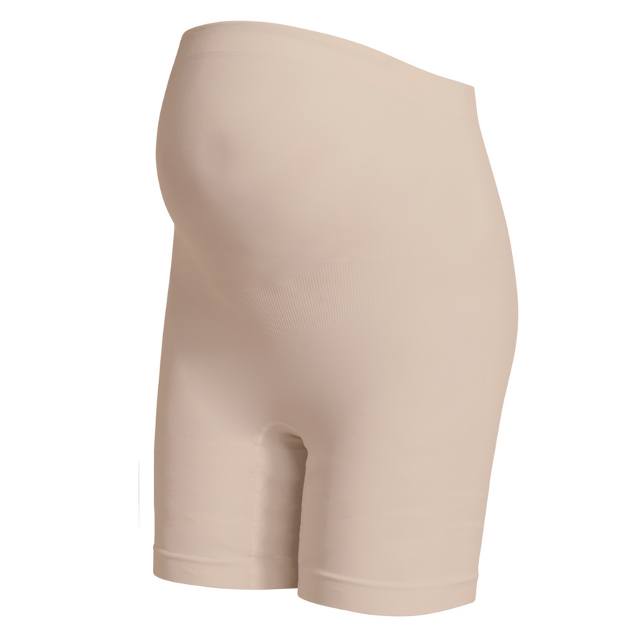 Seamless Shorts Long- Natural