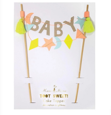 BABY CAKE TOPPER