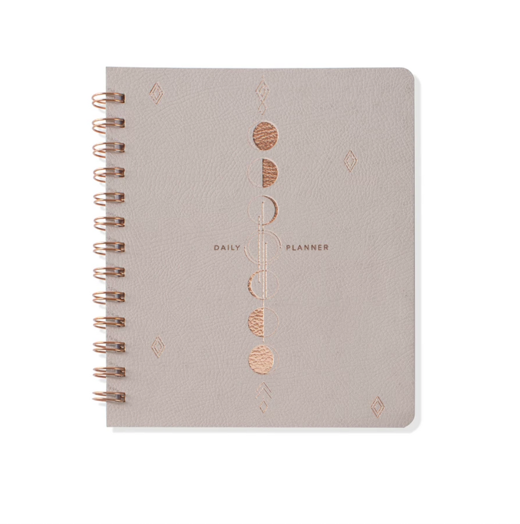 Moon Phase Non-Dated Daily Planner