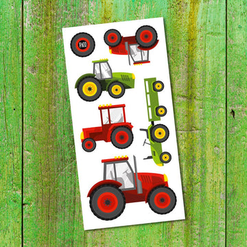 Temporary Tattoos | Tractors