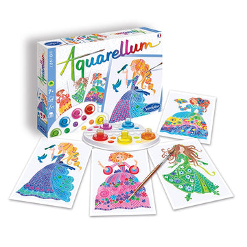 Watercolour Art Kit | Flower Princess