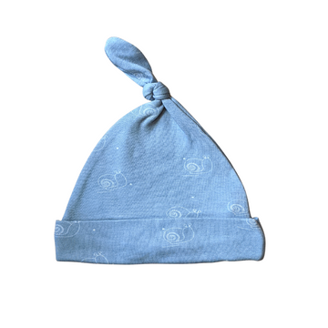 Knotted Hat | Stone Blue