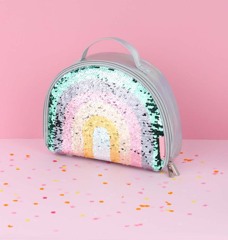 Rainbow Sequin Cool Bag