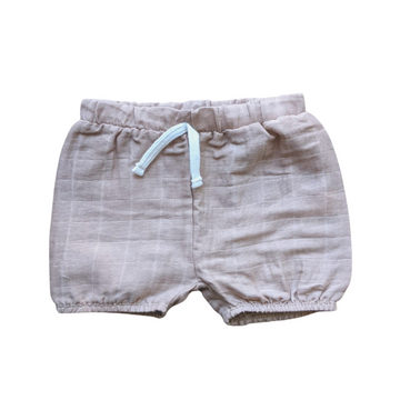 Baby Pull-On Shorts | Tan