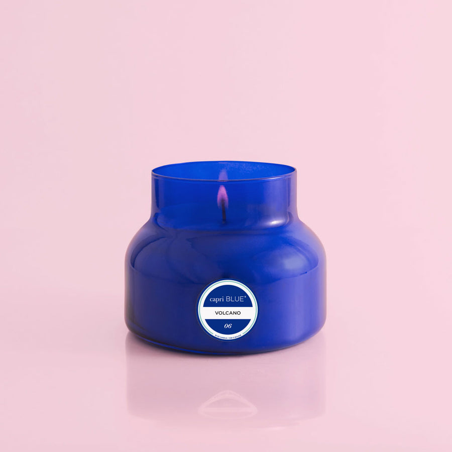 Volcano Blue Signature Jar Candle, 19 oz