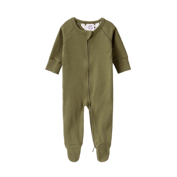 Organic Zip Growsuit | Sage