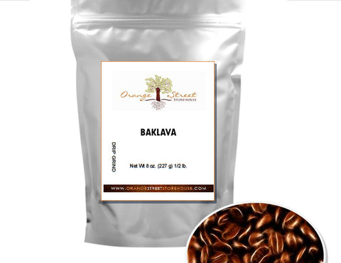 BAKLAVA FLAVORED COFFEE