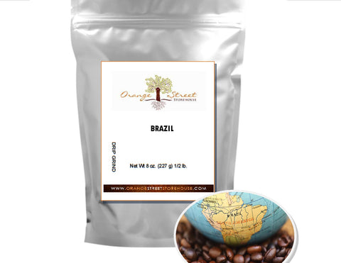 BRAZIL COFFEE by REGION