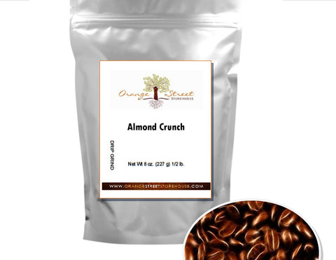 ALMOND CRUNCH FLAVORED COFFEE