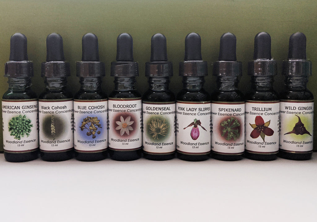 Entire Set of At-Risk Flower Essences