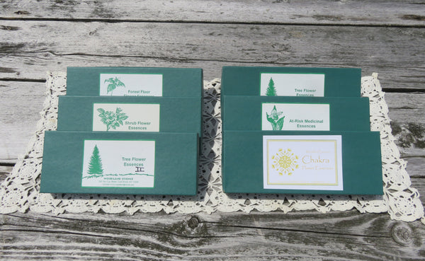 Entire Collection of Woodland Essence Flower Essence Box Sets